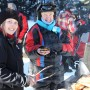 BBQ lunches included on most snowmobile tours in Golden BC