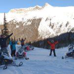 snowmobile tours golden bc