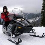 Starlight Ride Snowmobile Tour in Golden BC