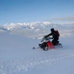 Golden BC backcountry snowmobile tour