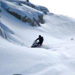 Golden snowmobile tours