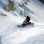 Snowmobiling Golden BC
