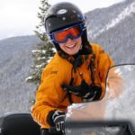 Snowmobile tour guide in Golden BC