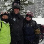 Snowmobiling with White N' Wild in Golden