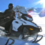 snowmobile full day tour in golden bc