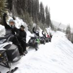 snowmobile tours golden