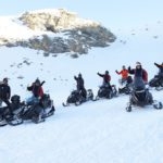 Snowmobile tours for all levels of abilities
