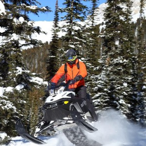 Mild to Wild Snowmobile Package, Golden BC