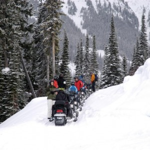 Snowmobile Tour Banff