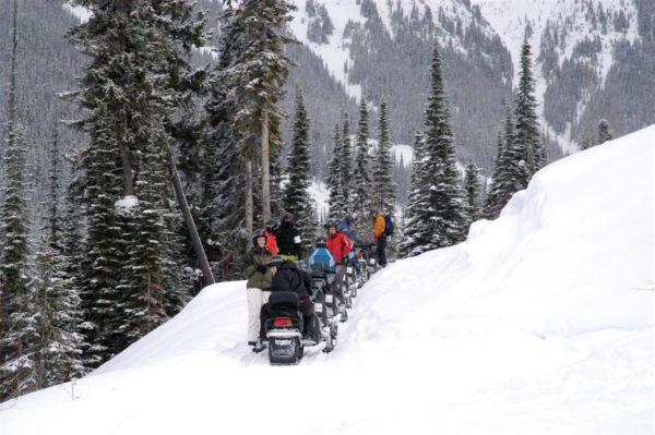 Snowmobile Tour Banff