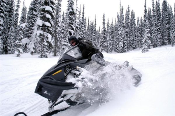 Express Snowmobile Tour