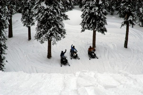 Golden bc sledding