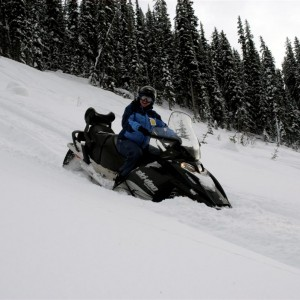 sledding golden bc