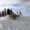 Fun times snowmobiling!