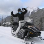 Snowmobile Tour in Golden BC