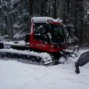 snowmobile trail grooming