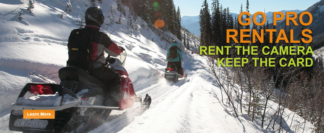 Beautiful Rocky Mountain Scenery on your Snowmobile Tour in Golden, BC