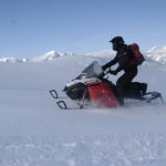 sledding tour from Canmore, Lake Louise and Banff