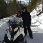 snowmobiling in golden, BC