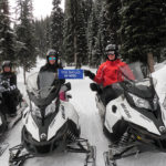 snowmobile tour golden bc