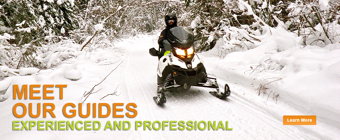 snowmobile tour guides