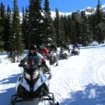 snowmobile tour group
